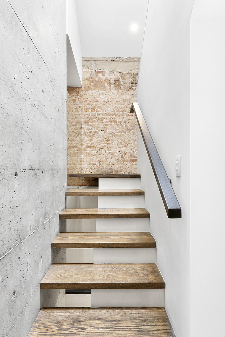 Interior Modern Staircase NYC Townhouse