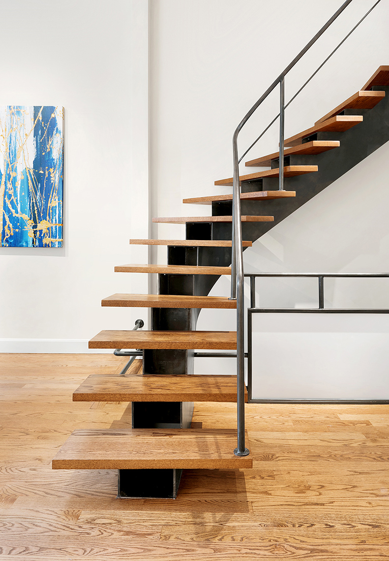 Interior Staircase NYC Townhouse