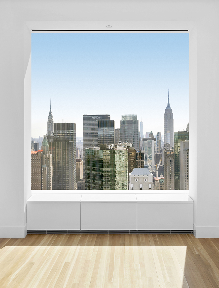 Zoe Wetherall / Interior Architecture / NYC View 432 Park