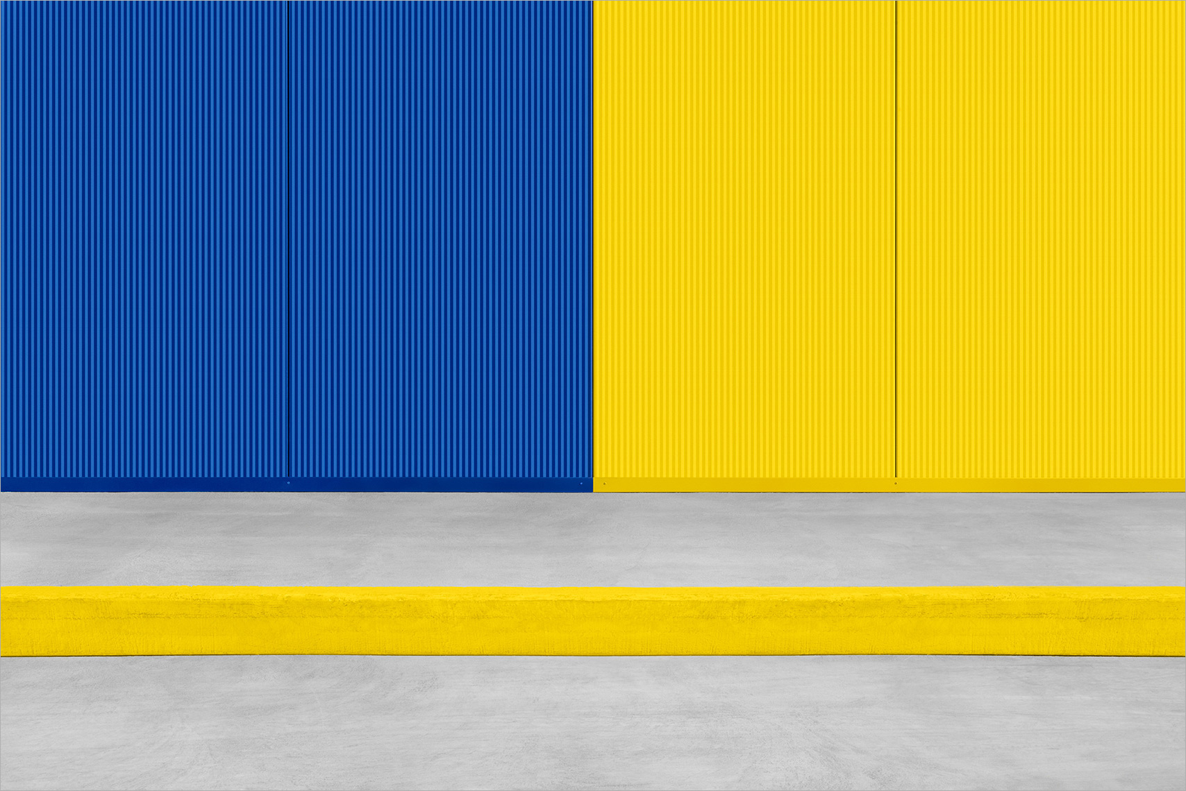 Zoe Wetherall / Architecture / Blue and Yellow