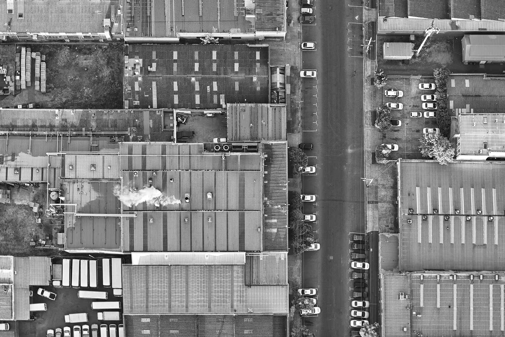 Factories Aerial Landscape Architecture Melbourne Hot Air Balloon