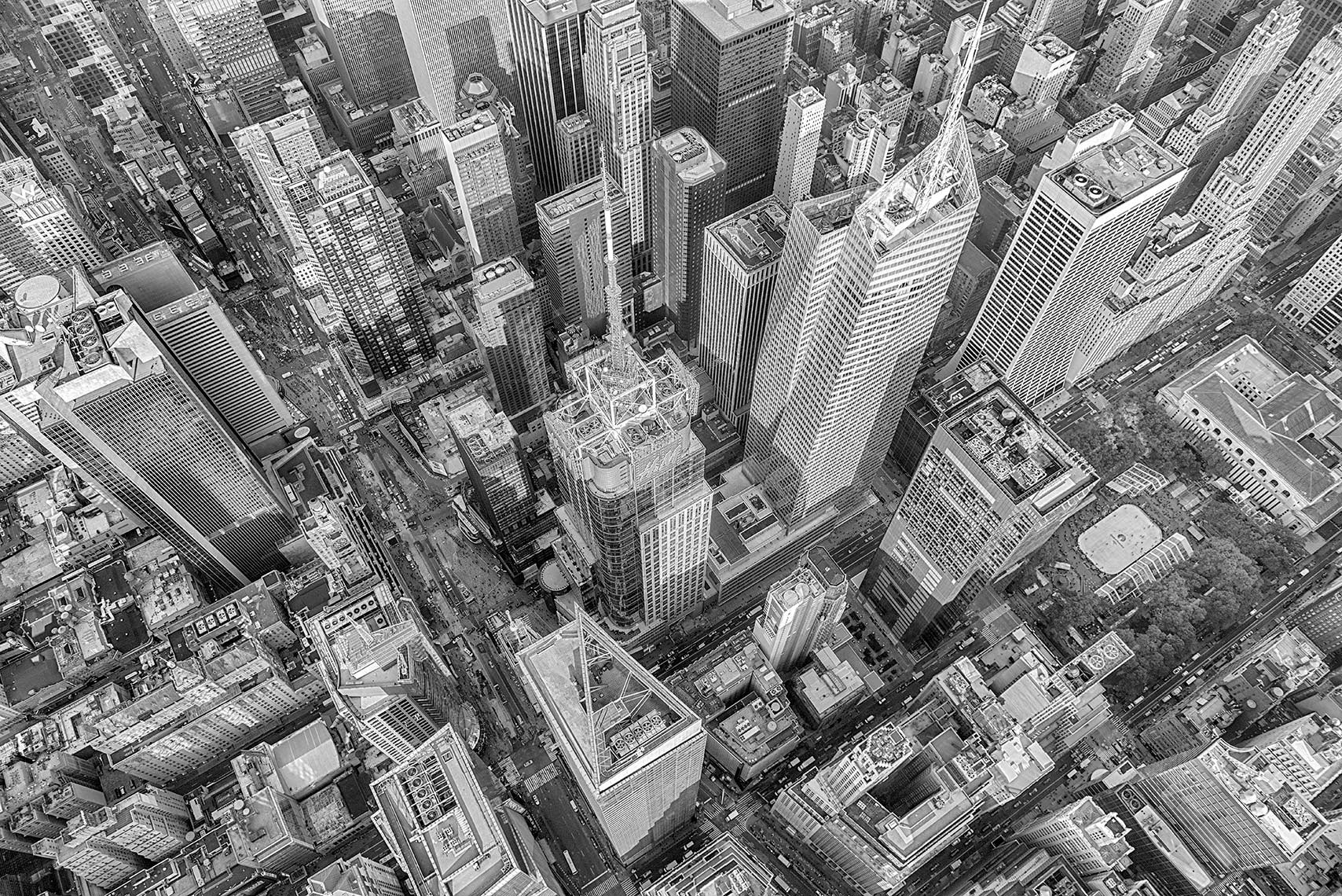 Manhattan Aerial Landscape Architecture NYC New York City Helicopter