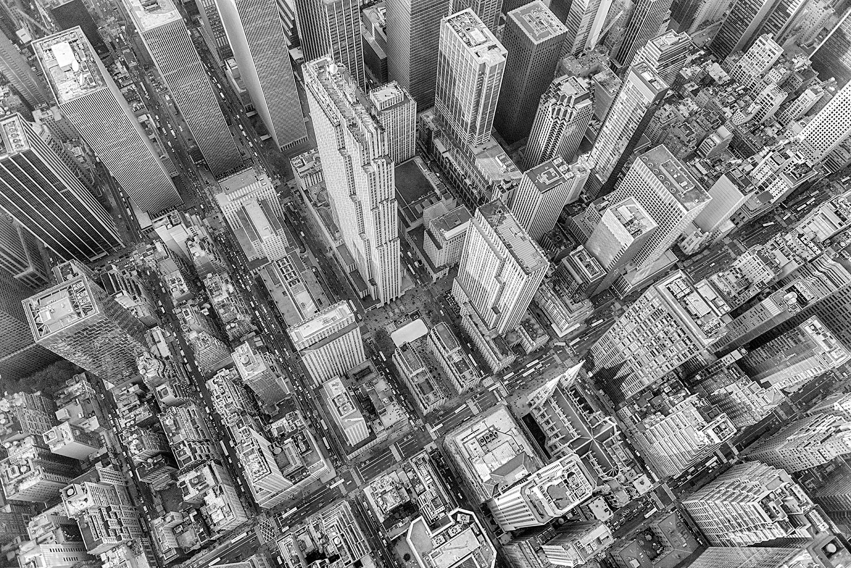 Zoe Wetherall / Aerial Cityscape / Manhattan 3