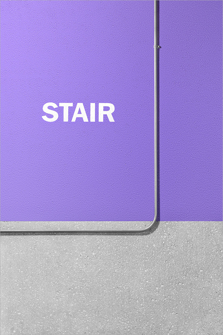 Zoe Wetherall / Architecture / Purple Stair