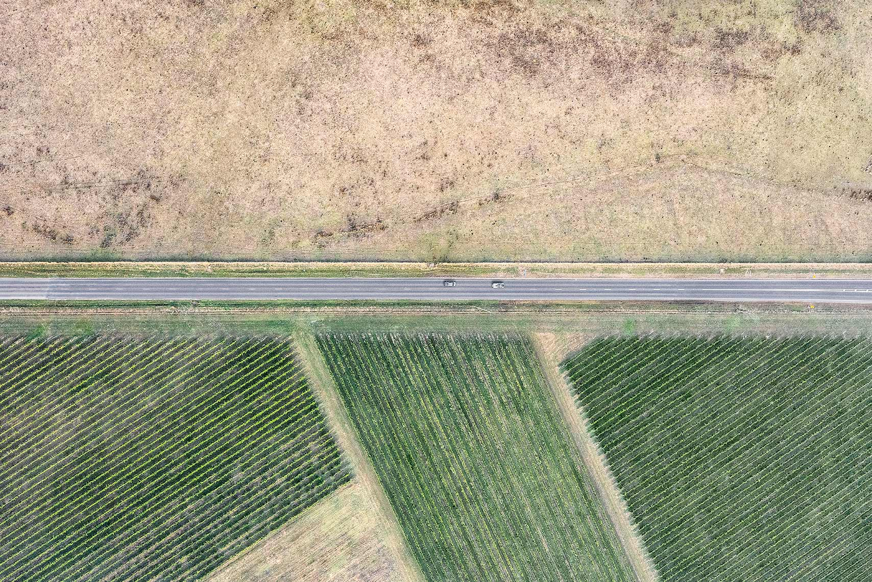 Zoe Wetherall / Aerial Landscape / Road Trip