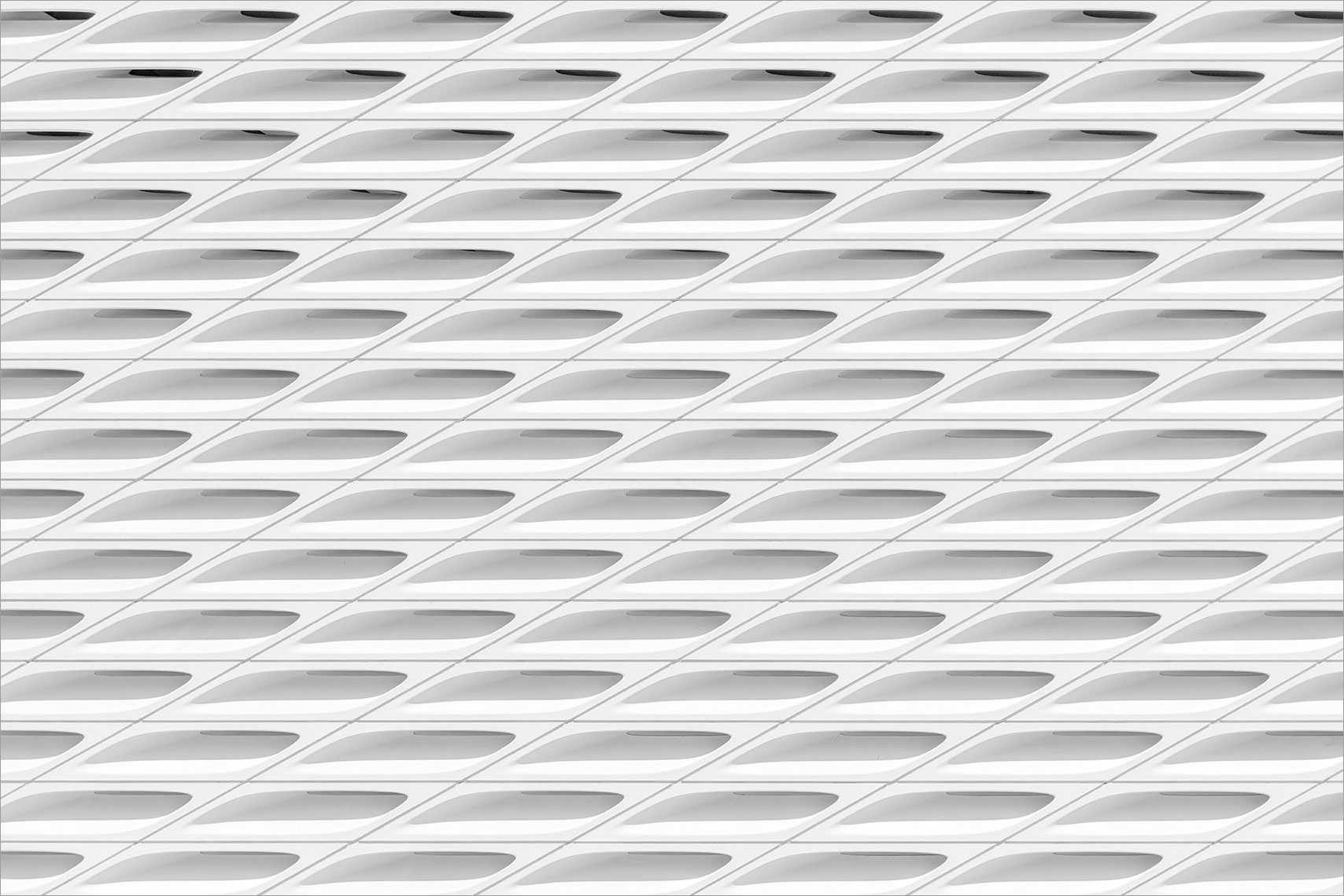 The Broad USA Los Angeles Museum Architecture Abstract Facade